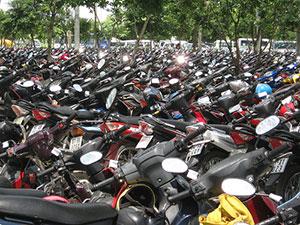 Parking au Vietnam