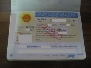 Visa Vietnam B3