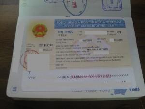 Visa Vietnam C1