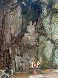 statue montagnes marbre