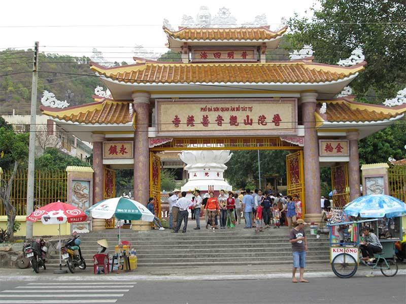 Les quatre temples restants