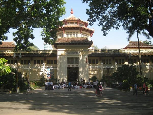 Le musée d'histoire de Ho Chi Minh ville