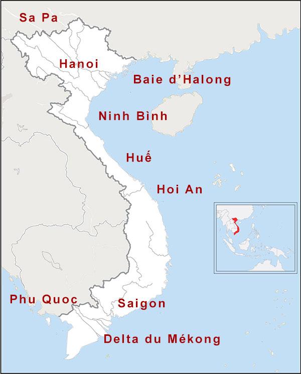 15 jours Vietnam