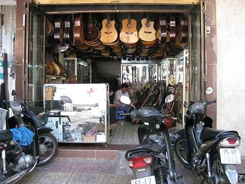 magasin guitare vietnam