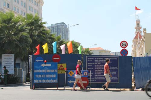 touriste saigon