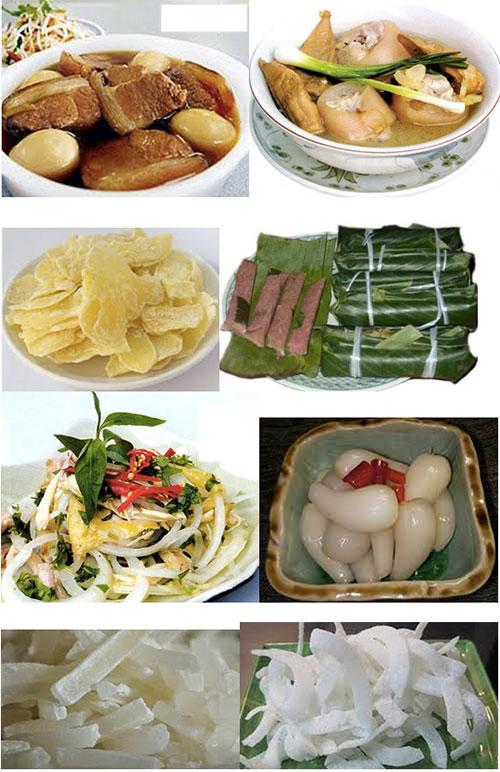 nourriture tet