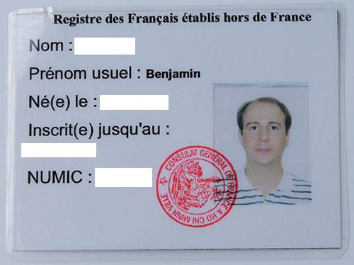 carte consulaire